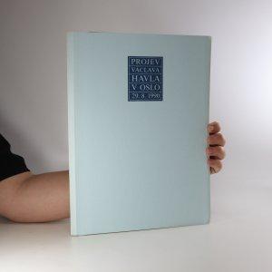 náhled knihy - Projev Václava Havla v Oslo 29. 8. 1990