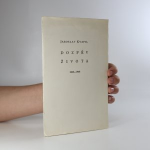 náhled knihy - Dozpěv života 1868-1948 (včetně kartičky podepsané autorem, viz foto)