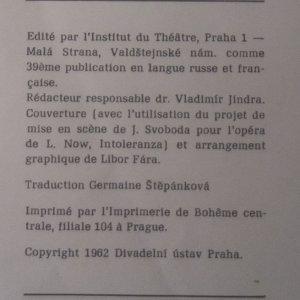 antikvární kniha Scénographie. Le théâtre en Tchécoslovaquie, neuveden