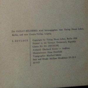 antikvární kniha Schön wohnen, 1958