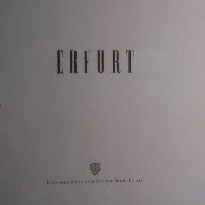 antikvární kniha Erfurt, neuveden