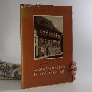 náhled knihy - Fachwerkbauten in Nordhausen