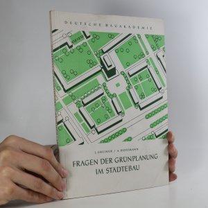 náhled knihy - Fragen der Grunplanung im Stadtebau