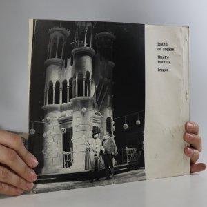 antikvární kniha Le Théâtre en Tchécoslovaquie, neuveden