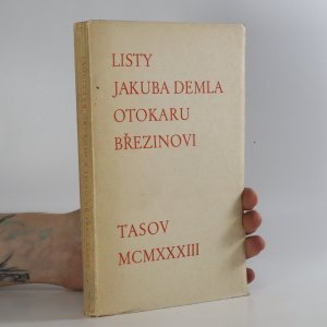 náhled knihy - Listy Jakuba Demla Otokaru Březinovi (podpis)