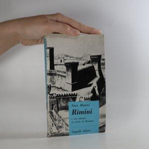 náhled knihy - Rimini i suoi dintorni la riviera di Romagna