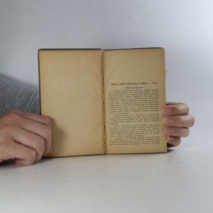 antikvární kniha Stručné dějiny literatury české, 1910
