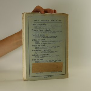 antikvární kniha Štěstí je umění, 1940
