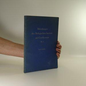 náhled knihy - Mitteilungen des Biologischen Instituts am Goetheanum nr. 1