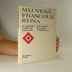 náhled knihy - Mluvená francouzština pro vědecké a odborné pracovníky