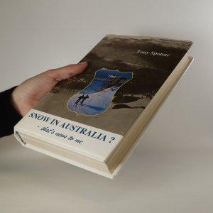 antikvární kniha Snow in Australia? That's news to me, 1995