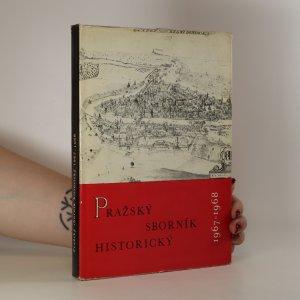 náhled knihy - Pražský sborník historický 1967 - 1968
