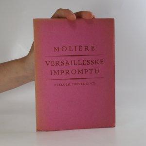 náhled knihy - Versaillesské impromptu