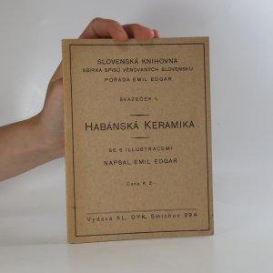 náhled knihy - Habánská keramika