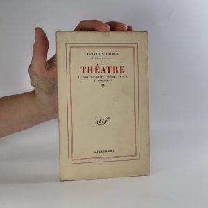 náhled knihy - Théatre