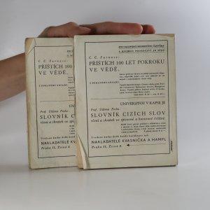 antikvární kniha Přehledné dějiny českého divadla (1. a 2. díl ve 2 svazcích, nekompletní, asi mají být tři, ale nejsem si jistá), 1926