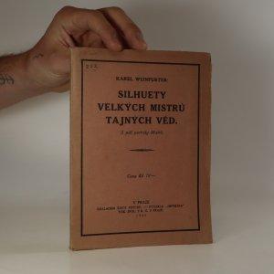 náhled knihy - Silhuety velkých mistrů tajných věd