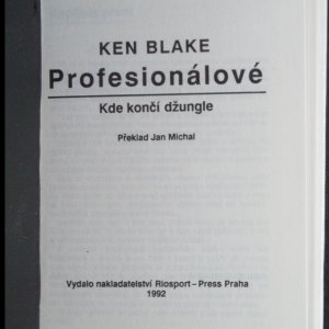 antikvární kniha Profesionálové. Kde končí džungle, 1992