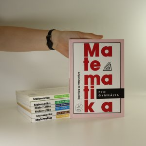 náhled knihy - 7x Matematika pro gymnázia (viz foto)