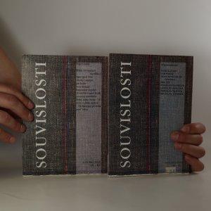 antikvární kniha 2x Souvislosti. Ročník 1995. Číslo 1 a 3, 1995
