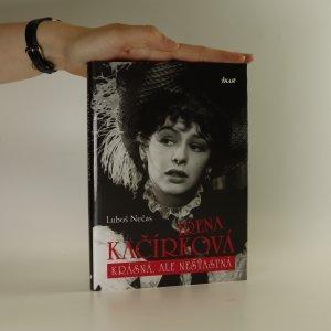 náhled knihy - Irena Kačírková. Krásná, ale nešťastná