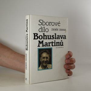 náhled knihy - Sborové dílo Bohuslava Martinů