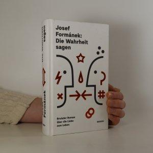 náhled knihy - Die Wahrheit sagen
