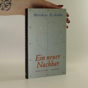 náhled knihy - Ein neuer Nachbar (podpis autora)
