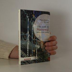 náhled knihy - Ein Jahr in Montreal