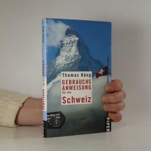 náhled knihy - Gebrauchsanweisung für die Schweiz