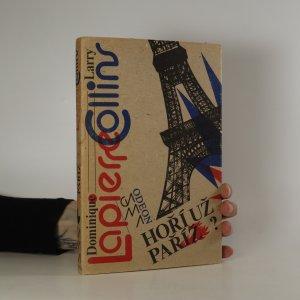 náhled knihy - Hoří už Paříž?