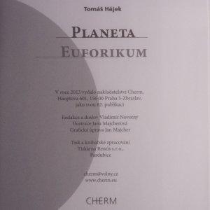antikvární kniha Planeta Euforikum, 2013
