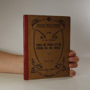 náhled knihy - Choix de prose et de Poésie du XIX. siécle. Tome 1er