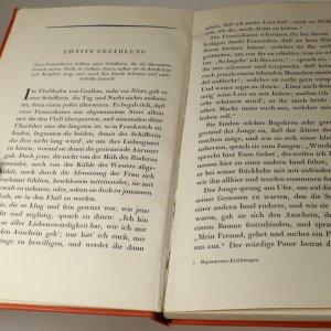 antikvární kniha Das Heptameron, neuveden