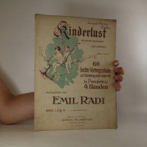 náhled knihy - Kinderlust. Children's Enjoyment. Joie d'Enfants