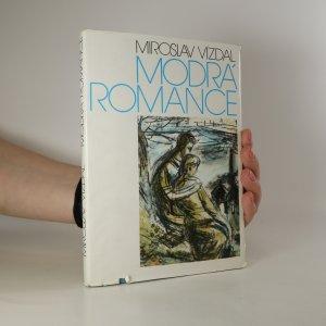 náhled knihy - Modrá romance