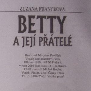 antikvární kniha Betty a její přátelé, 2001