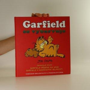 náhled knihy - Garfield se vybarvuje