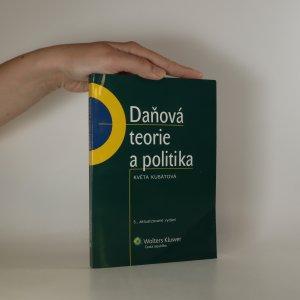 náhled knihy - Daňová teorie a politika