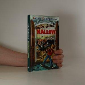 náhled knihy - Svěřte případ Kallovi