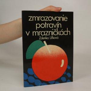 náhled knihy - Zmrazovanie potravín v mrazničkách
