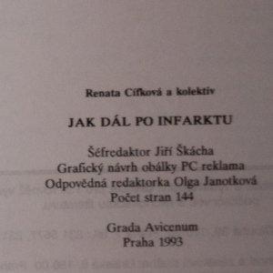 antikvární kniha Jak dál po infarktu, 1993