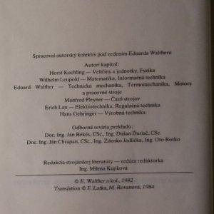 antikvární kniha Technické vzorce, 1984