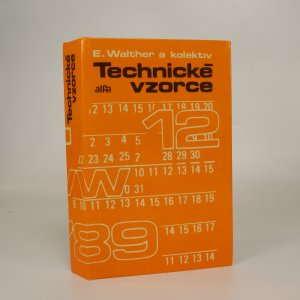 náhled knihy - Technické vzorce