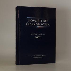 náhled knihy - Novořecko-český slovník
