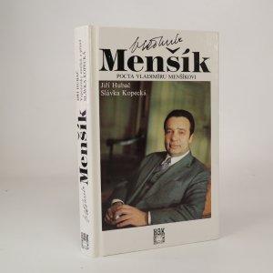 náhled knihy - Pocta Vladimíru Menšíkovi.