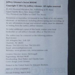 antikvární kniha Social Boom!, 2011