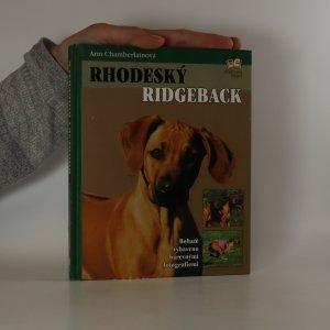 náhled knihy - Rhodeský ridgeback