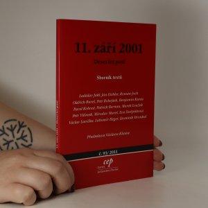 náhled knihy - 11. září 2001. Deset let poté. Sborník textů