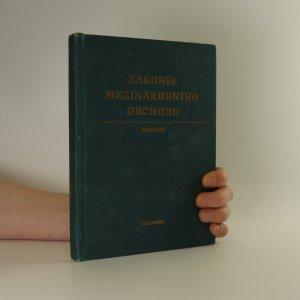 náhled knihy - Zákoník mezinárodního obchodu